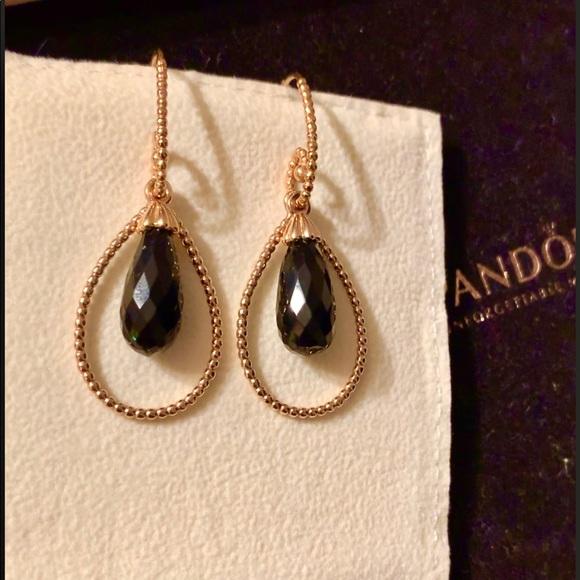 7d301feb6 Pandora Jewelry | 14k 585 Intuition Earrings Charmdangles | Poshmark